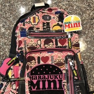 Harajuku 💛 BackPack!! 🍌💕💜
